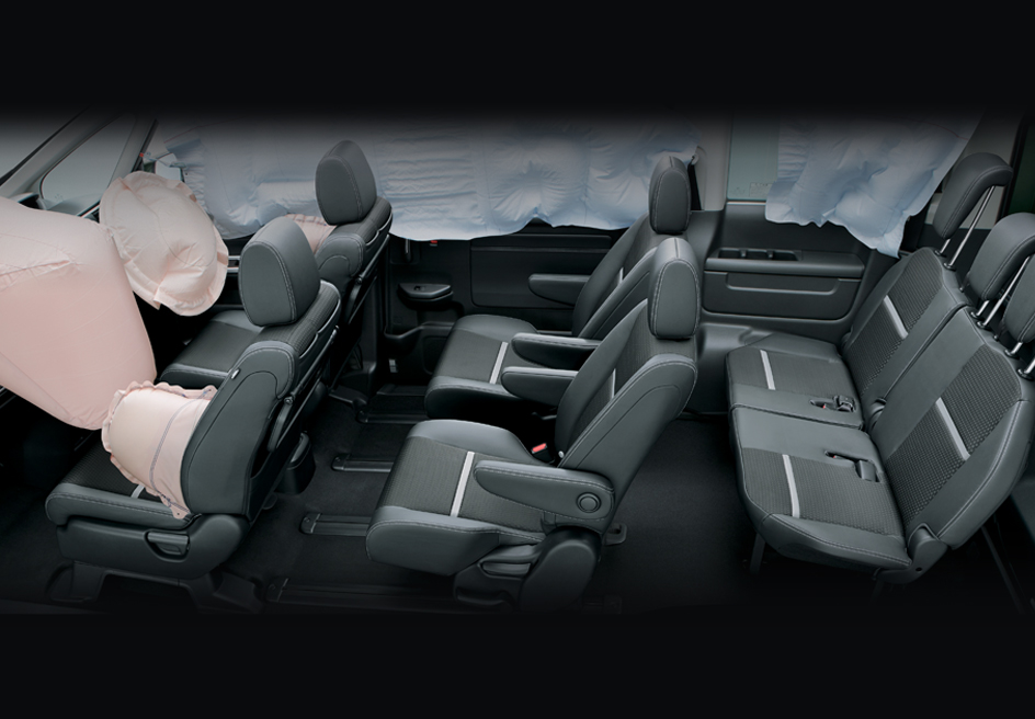 technology I-SRS AIRBAGS